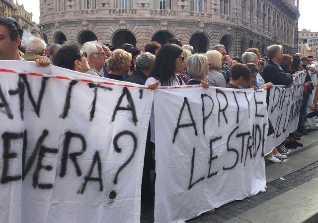 Ponte Morandi Genova: perché la città è arrabbiata e cosa chiede