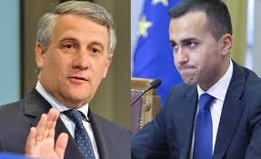 Tajani vs Di Maio, ma non c'è partita…